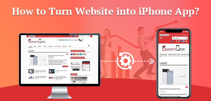 How to Turn Website into iPhone App?