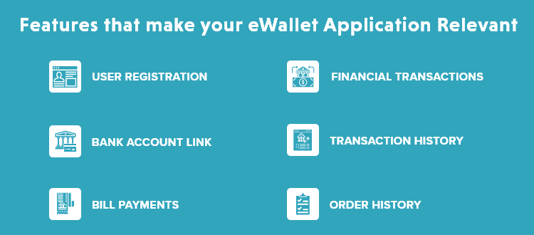 Features that make your eWallet Application Relevant